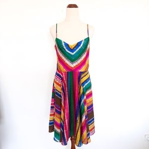 Portmans Size 12 Bright Colourful Dress